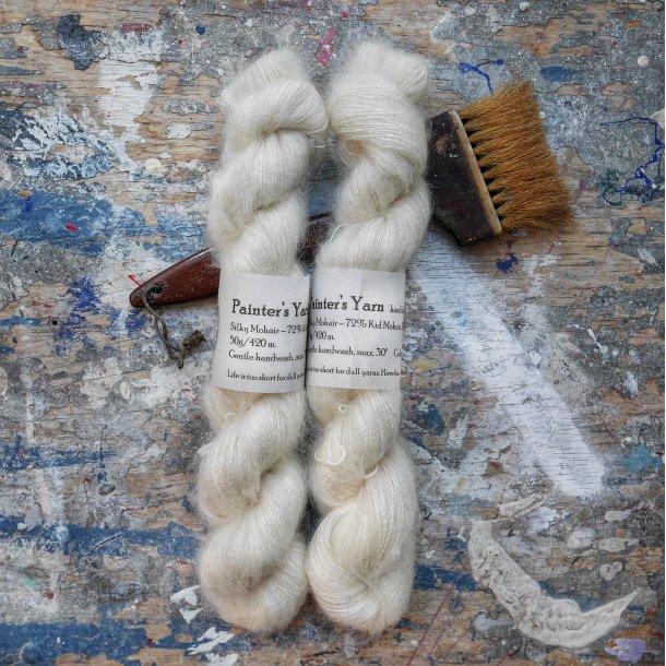 Silky Mohair 'Natural'