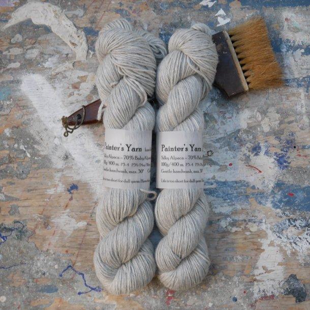 Silky Alpaca DK 'Natural Grey'